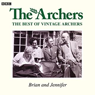 Vintage Archers: Brian and Jennifer cover art