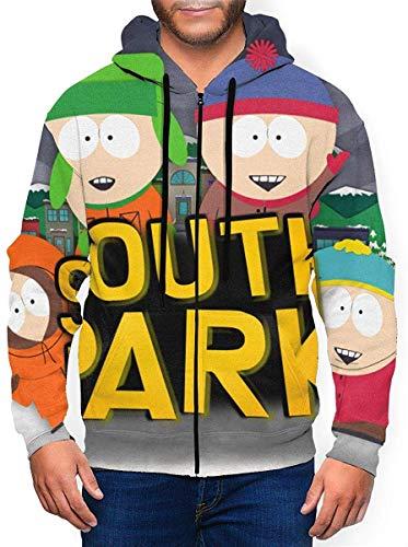 South Park Veste à Capuche zippée à Capuche pour Hommes
