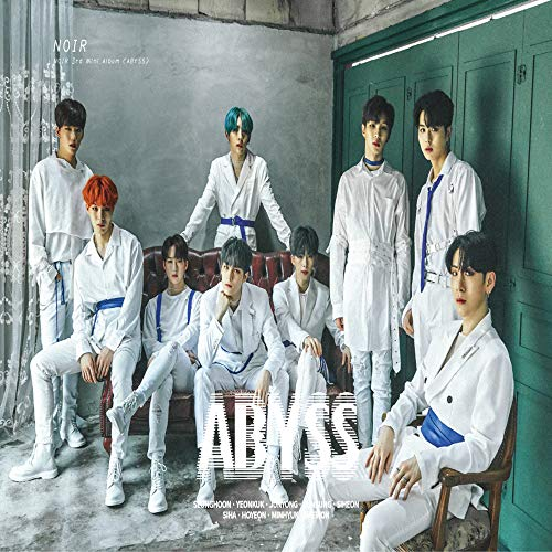 LUK FACTORY Noir - Abyss (3rd Mini Album) CD+96p Photobook+2Photocards