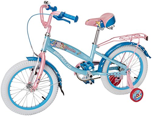 Benotto Giselle Cross Bicicleta de Acero, 1 Velocidad, color Azul/Rosa