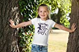 Einschulung & Schulanfang Schulkind 2020 Pferde Mädchen T-Shirt 128 Weiß - 4