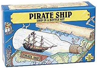 Pirate Ship in a Bottle Kit - Includes All Parts to Create a Mini Ship in a Bottle - VERY Challenging, Are You up for It?
