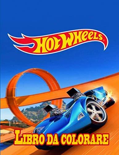 Hot Wheels libro da colorare