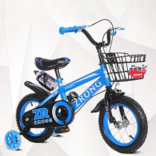 LIPENLI Las bicicletas de los niños de 16 pulgadas bicicletas for niños 4-7 años de edad bebé Bicicletas alto contenido de carbono de acero del carro de bebé, rojo / / verde azul bicicleta for niños (