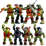 Modelo De Estatua De Las Tortugas De Ninja Mutante Adolescente (Edición 2012) Muñeca Articulada-12 Cm