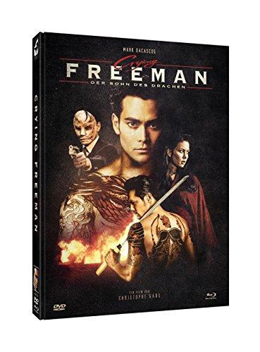 "Crying Freeman [Blu-ray + DVD Mediabook] - Cover C ""Cast"" (limitiert auf 1.000)"