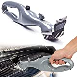 N/A Bbq Steam Grill Brush, <span class='highlight'>Barbecue</span> Stainless Steel Cleaning Brush, With Power Of Steam, Fume Stain Cleaner, Outdoor Bbq Accessories Cooking Tools