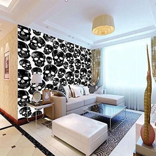 Design Fototapete Modernes Interieur 3d Regenbogen Musikinstrument Wandbild Wohnzimmer Fernseher Hintergrund 300x210cm/118.1x82.7in