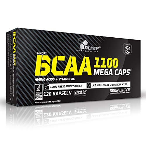 2 x Olimp BCAA 1100, 120 Mega Caps (2er Pack)