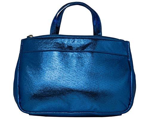 cecilia&bens Handtaschen-Organizer | Bag in Bag für Shopper und Taschen - ideal für Taschen 27 bis 37cm, Farbe:blau