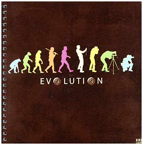 3dRose db_47359_1 Kike Calvos Evolution von einem professionellen Fotografen, 20,3 x 20,3 cm