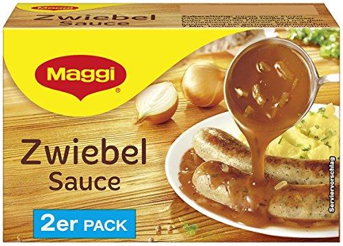 Maggi Zwiebel Sauce, 2er Pack, ergibt 2 x 250 ml