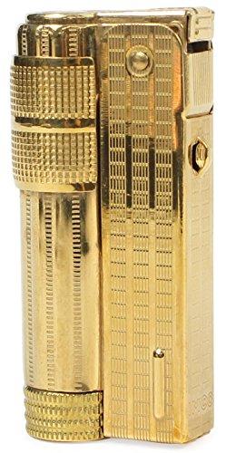 IMCO Classic Stylish Design Oil Lighter Super 6700P Brass Gold Color Japan Limited
