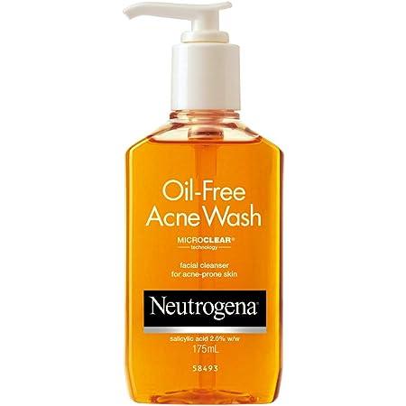 Neutrogena Oil Free Acne Wash For Acne Prone Skin With Salicylic Acid, 175ml