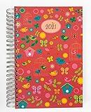 2021 Dicker Kalender – BIRDS (Vögel) – Spiralbindung – 90g-Papier – pro Tag eine volle DIN A4 Seite Platz – Tageskalender | KITA-Kalender | Terminkalender | Planungsbuch | TageBuch-Kalender | Notizen