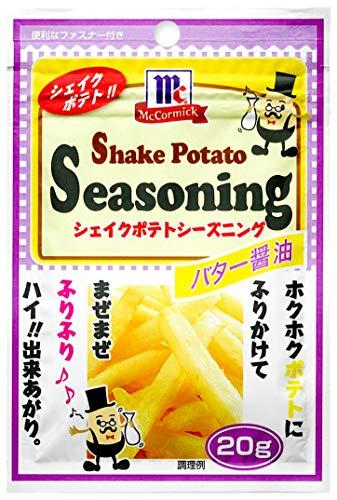 ユウキ MC ポテトシーズニング バター醤油 20g