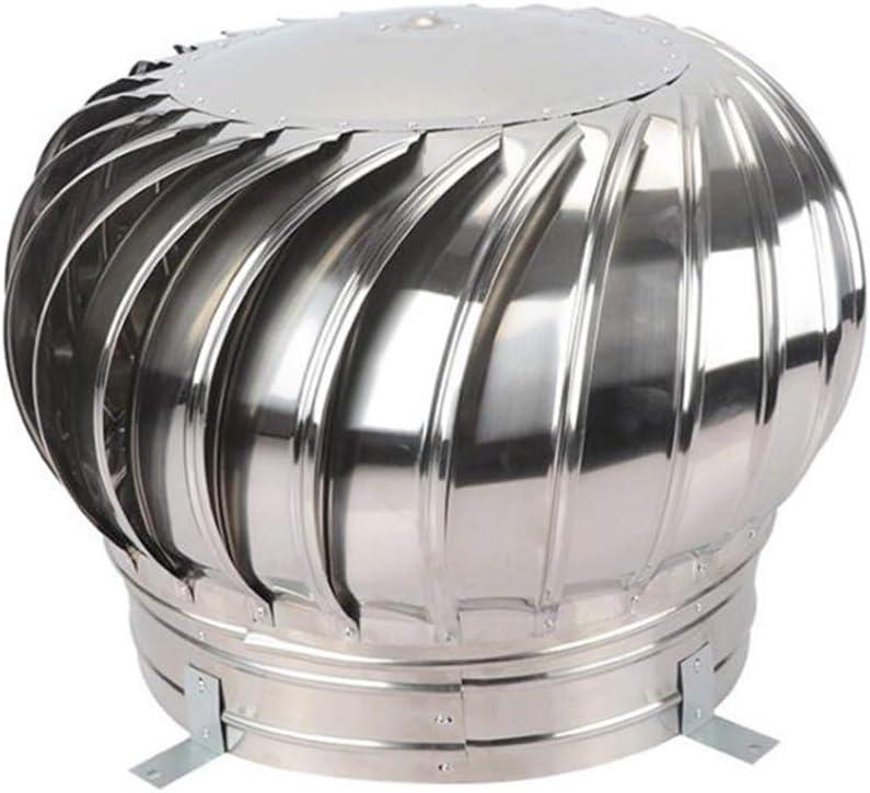 LTLCBB Extractor de Humo pivotantes, Aspirador Sombrero eolico para chimeneas Estufa de Acero Inoxidable, Base Cuadrada, Todas Las Dimensiones,600mm