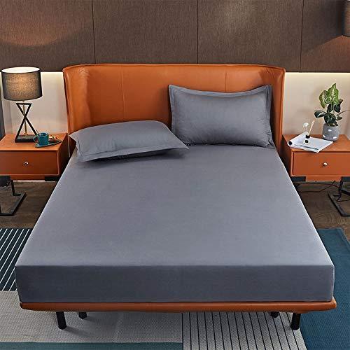 BOLO Hojas fáciles de limpiar, sábanas planas, 135 x 200 cm+25 cm