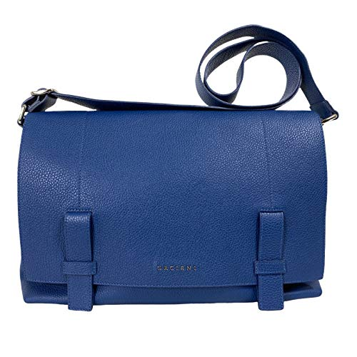Orciani D48 borsa donna blue leather bag women [ONE SIZE]
