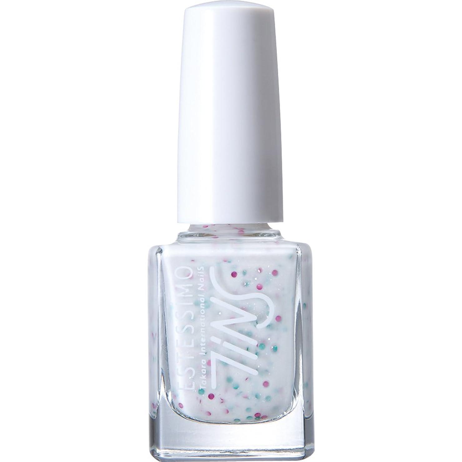予測三補うTiNS カラーポリッシュ 801 シュガーミルクシェイク 11ml 2015年春の限定色「Sugarsprinkles! 」シリーズ