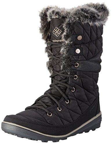 Columbia Heavenly Omni-heat Botas de invierno para mujer, Negro(Black Kettle), 37 EU