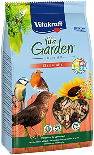 Vitakraft VitaGarden Classic Mix - Mangime per Uccelli Selvatici, 1 x 1 kg