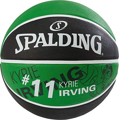 Spalding NBA Player Kyrie Irving SZ.7 (83-847Z) Basketballs, Gioventù Unisex, Green/Black, 7