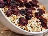 Arándanos secos, arándanos sin aditivos artificiales, ligeramente endulzados con jugo de frutas, bocadillo de frutos secos (250 GR)
