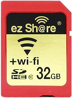 ez Share 8GB 16GB 32GB Adapter WiFi SDHC Karte Class10 SD Karte Wireless Kamera Speicherkarte für Kamera (32GB)