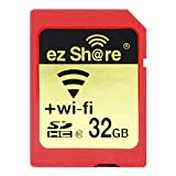 ez Share 32 GB Adapter WiFi SDHC Card Class10 SD Card Wireless Camera Memory Card for Camera