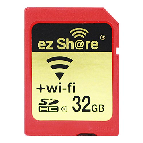 2017 Pen Drive 100% Original Real Capacity ez share WiFi sd Card Memory Card Sdhc Card Camera (32GB)