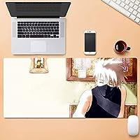 ナルト-ナルト-シリーズ/はたけカカシat Restパターン/アニメゲームマウスパッド/ゴム素材滑り止めで精度を向上デスクトップマット/Eスポーツ、オフィス、家庭用コンピューターキーボードパッド