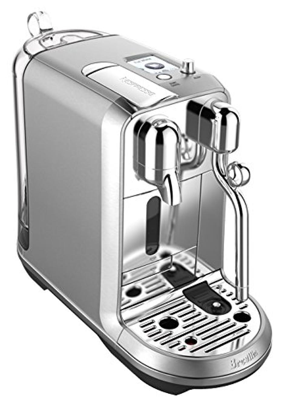 Nespresso Creatista Plus Coffee and Espresso Machine by Breville, Stainless Steel