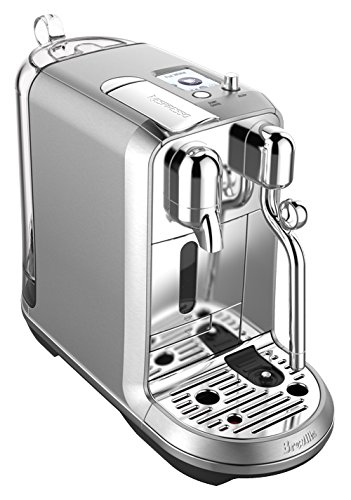 Nespresso Creatista Plus Coffee and Espresso Machine by Breville, Stainless Steel