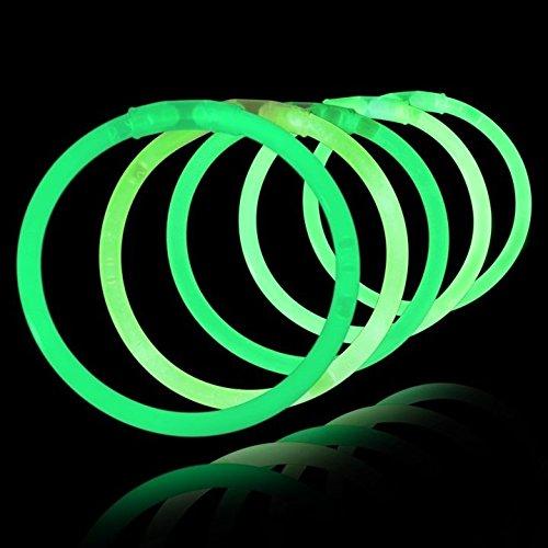 La Vida en Led 200 Pulseras Luminosas Glow Pack Verdes Entrega 1-3 DÍAS