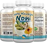 Hawaii Nutrition Company - Noni - 100% Grade A Noni Fruit Capsule - 100 Capsules - Boost Your Immune System, Manage Muscle & Joint Pain, Improve Digestion