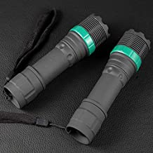 240 Lumens Flashlight Adjustable Focus Outdoor Hunting Torch Light Portable Work Lamp