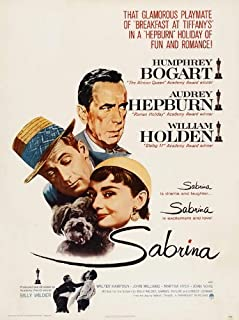 Sabrina Movie Poster (11 x 17 Inches - 28cm x 44cm) (1954) UK Style A -(Audrey Hepburn)(Humphrey Bogart)(William Holden)(Walter Hampden)(Francis X. Bushman)(John Williams)