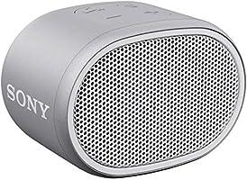 ソニー ワイヤレスポータブルスピーカー SRS-XB01 W : 防水 Bluetooth スマホなしで操作可能 ストラップ付属 2018年モデル / マイク付き/ ホワイト