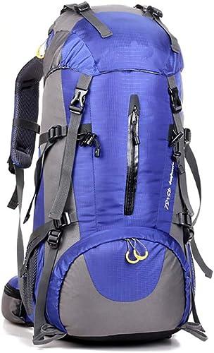 ZHYY Sac à Dos de randonnée Poids léger imperméable Sac à Dos d'alpinisme Confortable résistant Sac étanche Sport de Plein air pour Femme Homme Marche randonnée pédestre Camping