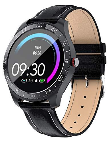 Smartwatch Pulsuhr Herren Damen Touch Screen Sport Fitness Armband Tracker Uhr mit Blutdruckmessung Smart Watch für IOS Android Schrittzähler Wasserdicht