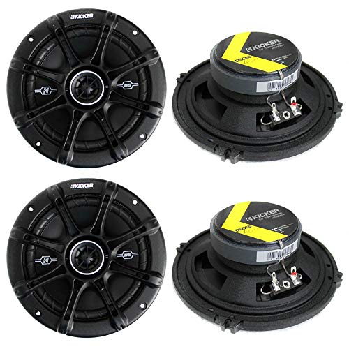 Kicker 41DSC654 D-Series best door speakers