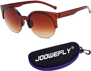 Unisex Polarized Sunglasses, Vintage Oval Sunglasses Stylish Oversized Driving Sun Glasses for Men and Women
