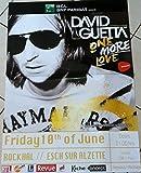 David Guetta, 50 x 70 cm/Poster Poster