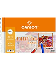 Gvarro Canson 200408061- Bloc A4, 20 Hojas, 130 g/m²