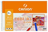 Gvarro Canson 200408061- Bloc A4, 20 Hojas, 130 g/m²