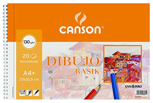 Gvarro Canson 200408061- Bloc A4, 20 Hojas, 130 gr