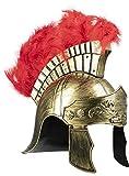 Funidelia | Casco de centurión Romano para Hombre y Mujer ▶ Roma, Gladiador, Centurión, Culturas & Tradiciones - Color: Marrón, Accesorio para Disfraz