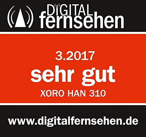 Xoro HAN 310 Flache DVB-T/T2 Zimmerantenne mit Fotorahmen (VHF/UHF, Verstärker, LTE Filter, 3m Kabellänge) schwarz