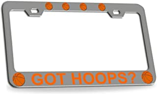 Custom Brother - GOT Hoops Basketball Ch Metal License Plate Frame Auto Tag Holder